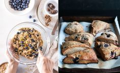 Recept: Somriga scones med färska blåbär