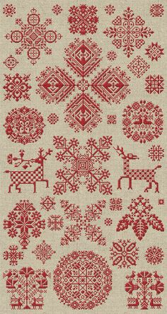 Through The Bitter Frost & Snow - 37 Christmas Ornaments - PDF Booklet. $15.00, via Etsy.