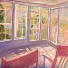 Sun Room by Jillian Herrigel, Dimensions: 15 x 15 in, Price: $350.00