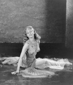 Rita Hayworth in a publicity photo for Salome, 1953