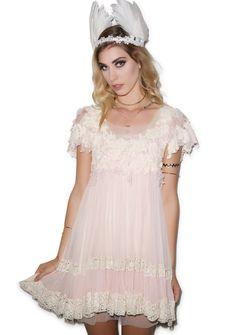 Fall in Love Lace Dress   Dolls Kill