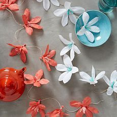 Floral Decor, Paper Flower Decor & Botanical Decor | west elm