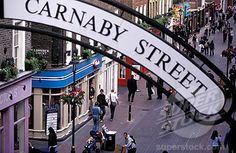 Carnaby Street, London. Grandad took me there in the 70's subsequent visits were not the same without him
