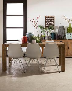 eetkamerstoel Spin past in ieder modern interieur. #Goossens wonen & slapen