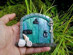 Fairy Door MAGICAL Faries Portal made of by TheCaterpillarQueen,
