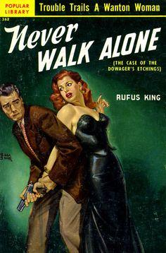 Popular Library, 1951 Cover art, Rudolph Belarski