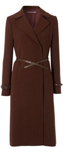 "Kate's (Duchess of Cambridge's) coat. ""Unlimited Celeste Flared Coat"" from Hobbs."