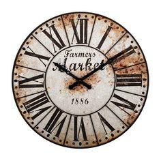 Georgette Oversized Wall Clock