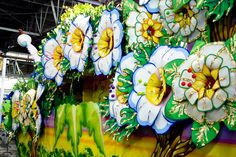 Here's a Mardi Gras float we are working on right now!