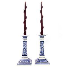 Coimbra Ceramics Hand-painted Decorative Candle Holder XVII Century Recreation #147