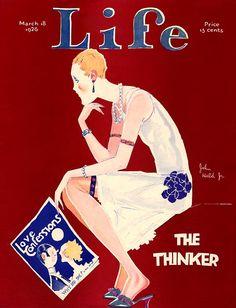 Life magazine art.  March 18, 1926.