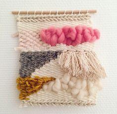 Weaving - Designer: Ilary Bottini www.colorpastello.com