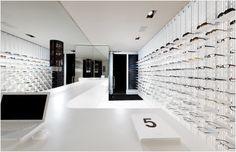 Sleek eyewear boutique