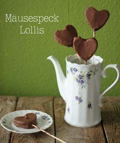 Mäusespeck Lollies Growing Strong, Tasty, Yummy Food, Dessert, Cupcakes, Cake Pops, Tea Pots, Bacon, Sweet Treats