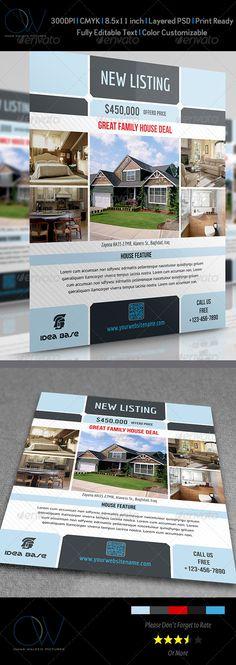 Real Estate Flyer Vol.3