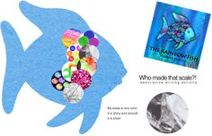 in conjunction with MLK lessons: rainbow fish - who made that scale?