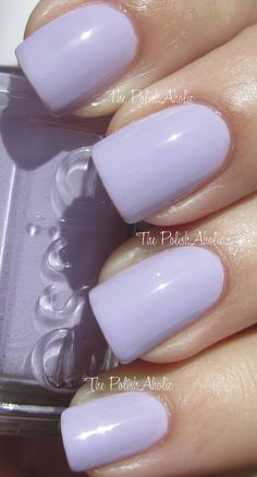 Essie - Lilacism, the other color... this is amazing!  This will also be my wedding nails i do believe (Dan bought me this color when we first started dating)