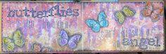 jehkotar: Art Journal: Butterflies