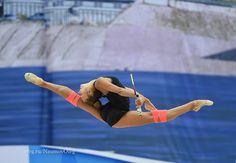 Alexandra SOLDATOVA (Russia) ~ Training Club  routine @ WC Kazan 2016 ❤️❤️  Photographer Oleg Naumov.