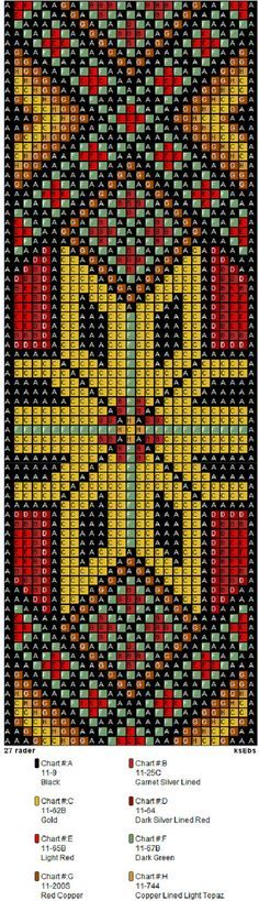 1379 Best Bead Loom Patterns Images