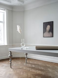 Viola is a massive table with traditional turned legs in just the right exaggerated dimensions. Dining Table Legs, Dining Area, Dining Room Furniture, Dining Rooms, Interior Design Inspiration, Solid Oak, New Homes, House, Decor Ideas