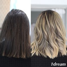BEFORE & AFTER by Raluca Racovita  LET THE DREAM COME TRUE ❤ Tratamente par / Tehnica Balayage / Nails Art / Make-up / Best Products / Cosmetics/Extensii / #1dream #coafor #balayage #expertbalayage #goldwell  #blondehair #blonde #hairstyle #beauty #hairdresser #haircolor  #hairstudio  #ombre #haircolor #olaplex #mediumhair #hair #highlights  #haircut #suvite   #beforeandafter  www.1dream.ro 0728580314