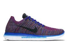 best cheap c1a23 76af8 Nike Free RN Motion Flyknit Prix - Chaussures De Running Pas Cher Pour  Homme Harmonie Bleu gamma Cramoisi brillant Noir 831069 402-831069 402 -  Chaussure ...