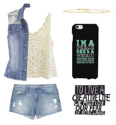 Untitled #34 by stray-arrow on Polyvore featuring polyvore, fashion, style, maurices, J Brand, Sydney Evan, Samsung and clothing