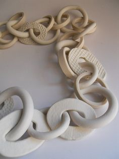 31link porcelain chain by melabo on Etsy