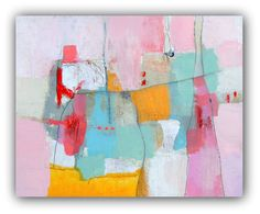 """Abstract Painting, Modern Art, Contemporary Original Painting - """"Stay Right"""""""