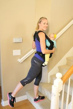 New Year, New Mom! Tackle Your Trouble Spots: Butt #ergobaby #babywearingfitness