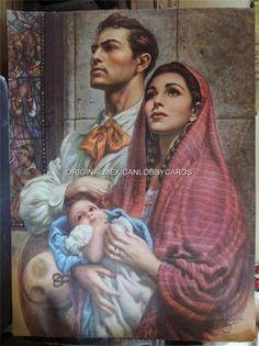 La Presentation En El Templo by Jesus Helguera
