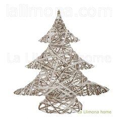 Árbol Navidad artificial abeto blanco 49