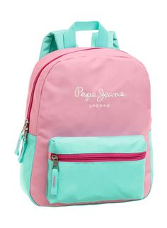 6f862f50d Mochila Pepe Jeans Bicolor Pink #PepeJeans #JoummaBags #backpack #SS16  Mochilas Pepe Jeans
