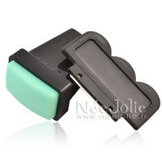 €2.70 Kit Stamping Tampon Rectangulaire Grattoir Raclette Acier - 2 Couleurs Au Choix - NeeJolie.fr