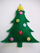 Felt craft kit, Christmas Tree, sewing kit, tree decoration, fun for children