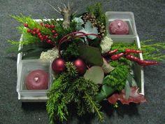 kerststukje maken met ster frame - Google zoeken