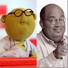 Sesame Street and Celebrity Look-alikes