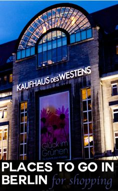Just like many cities, Berlin has a real cosmopolitan vibe. But what makes it unique is its variety of attractions with a story to tell. To see is to believe, and we share with you a selection of our places to visit during your Berlin travels to make the most of your stay, not forgetting shopping at KaDeWe mall of course!