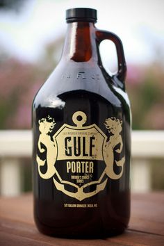 Gulf Porter, a great limited run dark beer made by Lazy Magnolia, especially good on tap.