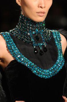 Jewels on black