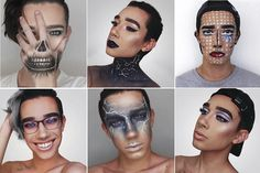 "Not many 16-year old boys can say they have been to New York Fashion Week, or get showered with swag from cosmetic brands or have nearly 200,000 social media followers.  The Bethlehem Central High School student, who goes by ""James Charles,"" has quickly made a name for himself in recent months by taking selfies in adventurous and provocative makeup and posting them to Instagram, a popular image-sharing social network.  Dickinson, a junior who can be seen donning makeup while attending…"