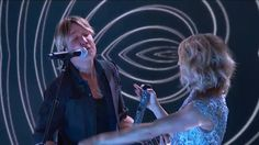 """Keith Urban, Carrie Underwood GRAMMY Performance: """"The Fighter"""" - Keith Urban and Carrie Underwoodperform """"The Fighter""""at the 59th GRAMMY Awards on Feb. 12, 2017, at Staples Center in Los Angeles."""