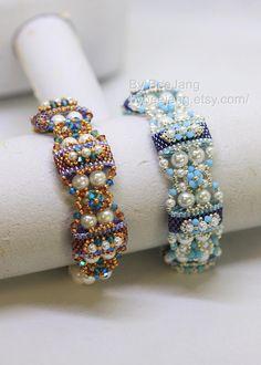 PDF Tutorial Deepika Carrier Beads bracelet Beading