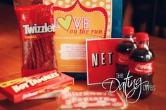 Date night in a bag! Awesome ideas for squeezing a date with your spouse into your busy schedules.