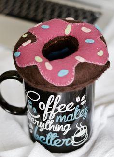 Donuts item lindo para Decorar sua mesinha do Quarto ou do Trabalho! :)