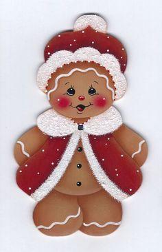 Vestidos para Gingerbread Santa por GingerbreadCuties en Etsy