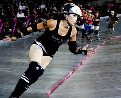 L.A. Derby Dolls. These women will hopefully be my teammates by the end of this year. Amazing what they do for their community and their athleticism.
