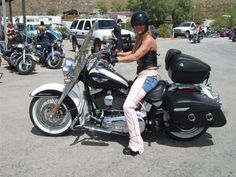 The most popular with women riders is the Softail Deluxe FLSTN.