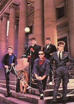I worked a shit job for a month just to buy tickets+tour program to see this one. Was worth all the bullshit to see them again! Great Bands, Cool Bands, Sing Street, Nick Rhodes, Uk Singles Chart, Simon Le Bon, Image Fashion, John Taylor, New Romantics